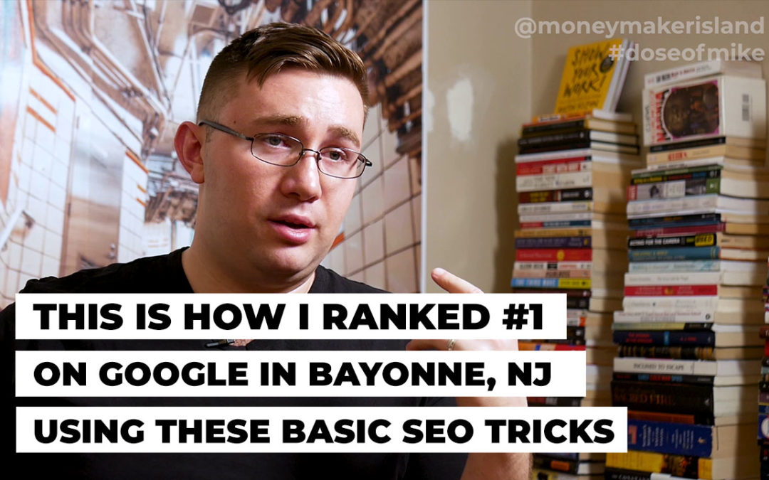 This is How I ranked #1 on Google Using Basic SEO Tricks in Bayonne, NJ